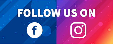 Follow us on Facebook and Instagram