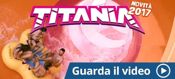 Titania novità Acquapark - Etnaland 2017