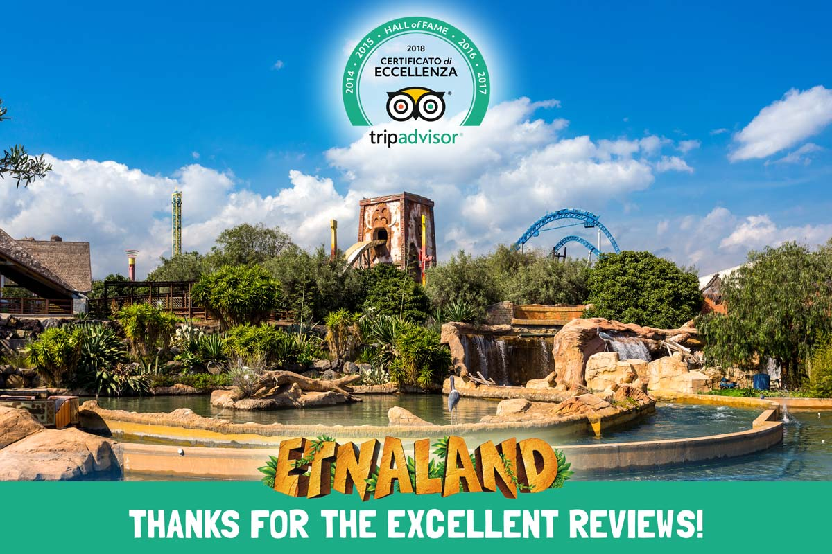Etnaland winner of the Certificate of The Excellence Tripadvisor award 2018.