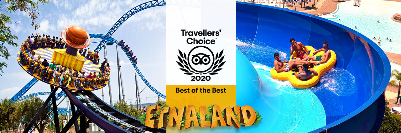 Etnaland vincitore del premio Travellers' Choice Best of the Best 2020!