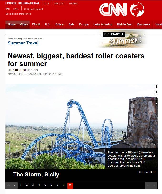 Cnn: The Storm tra i grandi della terra!